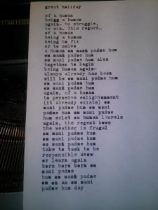 picture of a poem